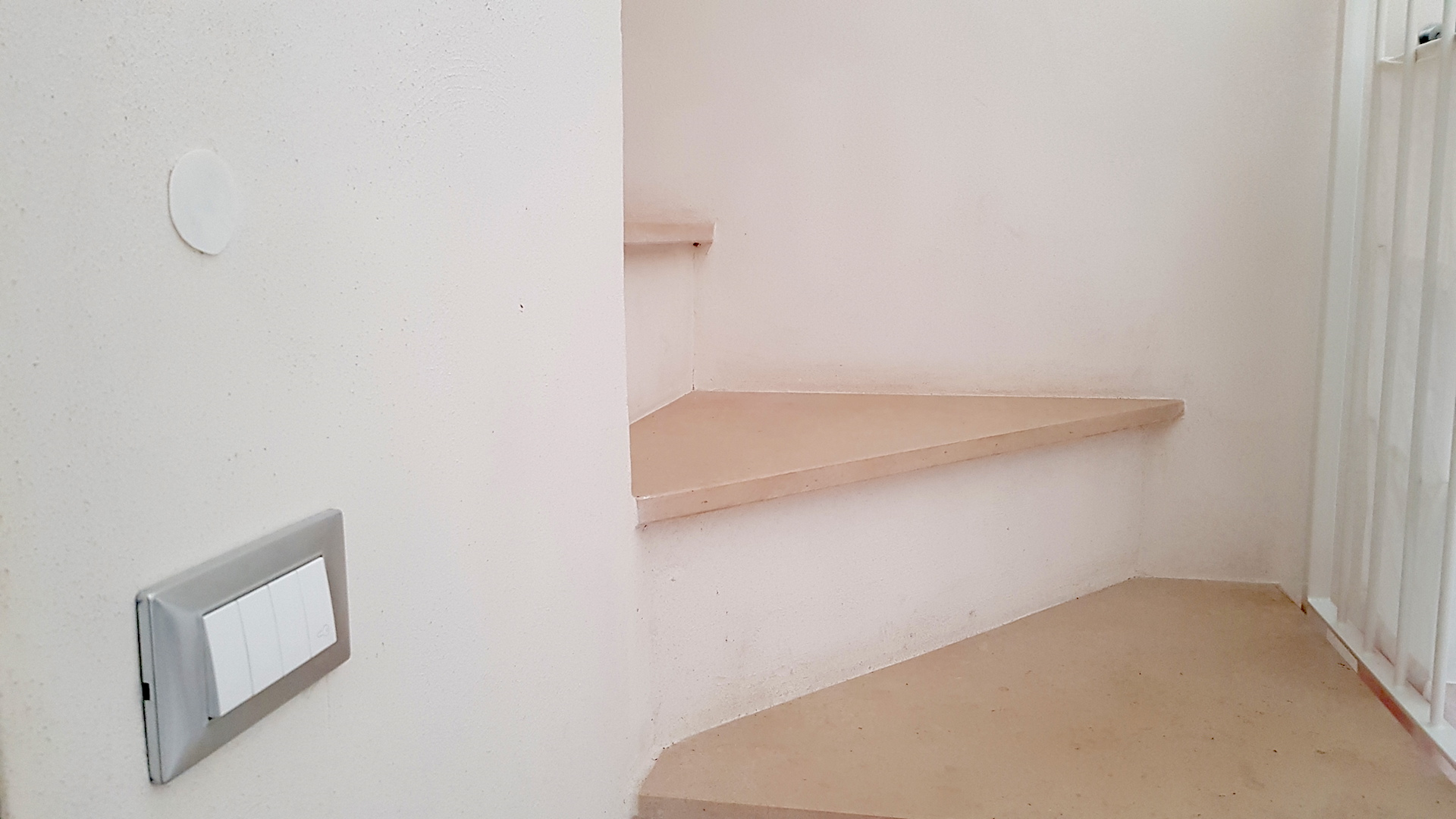Steps leading to the second floor of Casa Emma holiday rental home Ostuni Puglia