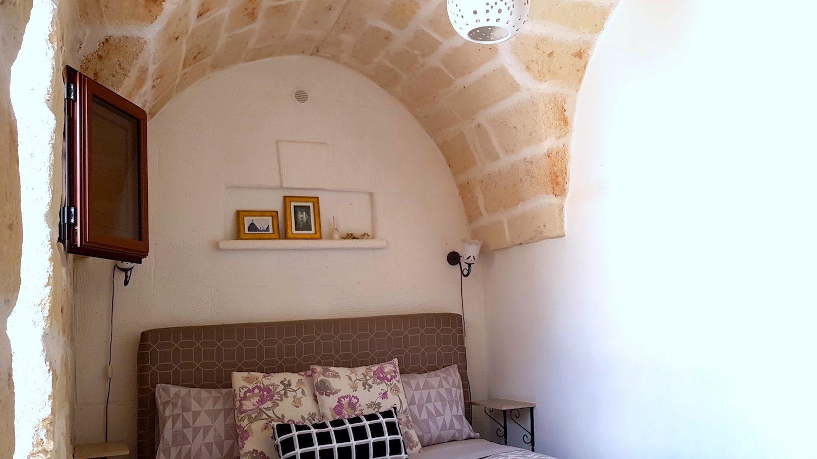 Bedroom at Casa dei Fiori holiday vacation rental home in Ostuni Puglia