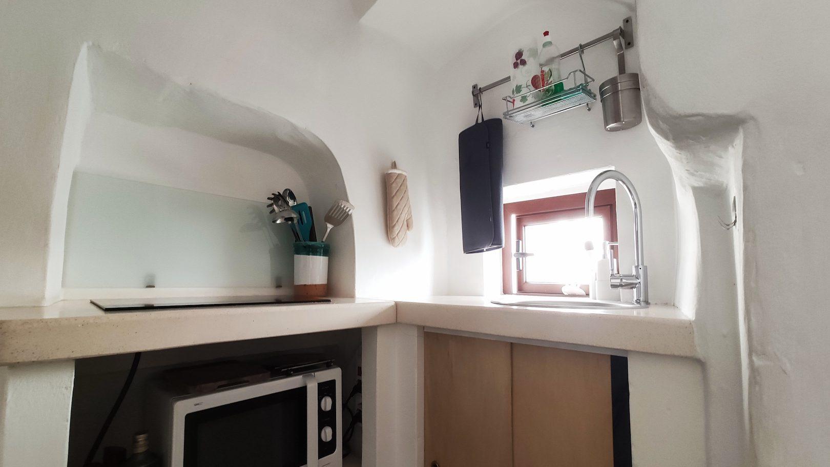 Kitchen in Casa dei Fiori holiday vacation rental home in Ostuni Puglia