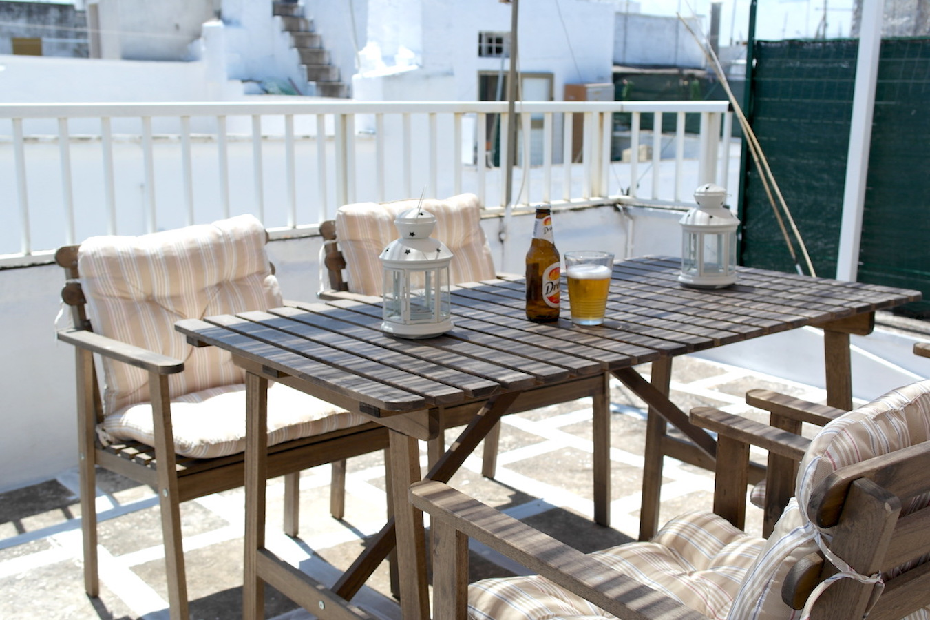 rooftop patio at Casa Caterina ostuni puglia vacation holiday rental house