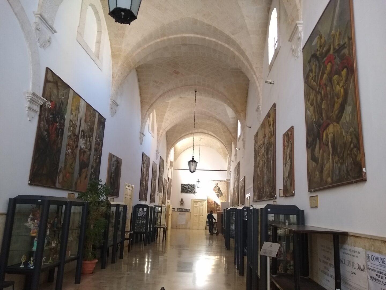 Hallway Ostuni city hall