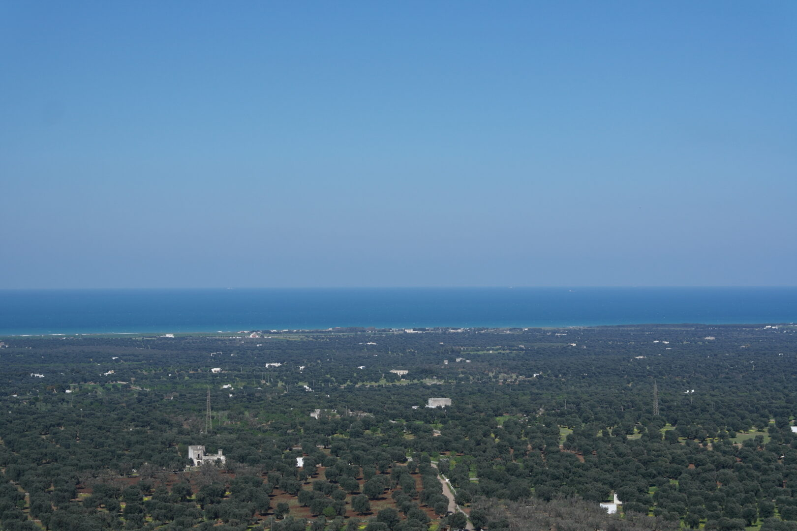 View from  Ostuni wall